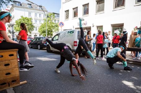 Neues Projekt für Jugendliche: Performances und Kultur im Stadtraum